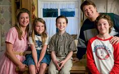 "CBS has granted ""The Big Bang Theory"" prequel ""Young Sheldon"" a two season renewal, which will take it through (and four seasons). ""Thanks to Chuck Lorre's and Steve Molaro's outstanding creative leadership, 'Young Sheldon' has Missy Cooper, Football Rules, Chuck Lorre, The Bigbang Theory, Tv Series 2017, Season 2 Episode 1, Comedy Tv, Live Events, Movies And Tv Shows"
