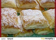 Listové bochánky s krémem recept - TopRecepty.cz Slovak Recipes, Czech Recipes, Russian Recipes, Pastry Recipes, Cooking Recipes, Bread Dough Recipe, Danish Food, Breakfast Bake, Sweet And Salty