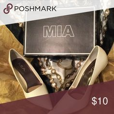 "Great shoes 3"" heels. Nice with skirts, slacks or jeans. MIA Shoes Heels"