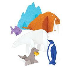 Arctic Felt Animals 3D Puzzle Set feltrica https://www.amazon.com/dp/B01FHKT6Q6/ref=cm_sw_r_pi_dp_x_N4twybZS63NYF
