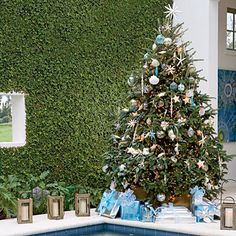 Elegant Outdoor Room - Christmas Decorating Ideas - Coastal Living
