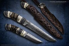 Spirits of the earth | André Andersson Custom Knives