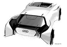 Audi from vis 6 Car Design Sketch, Car Sketch, Antique Cars For Sale, Car Chair, Robot Design, Futuristic Cars, Car Drawings, Car Ford, Car Wheels