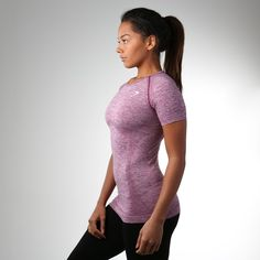 Is it time to update your gym gear? Seamless T-Shirt is now available in 'Plum' and everyone is crushing' Gymshark.com