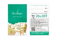 On cuesta+3_Introduce Card   Beauty salon graphic design ideas   Follow us on https://www.facebook.com/TracksGroup    美容室 ご紹介カード カード デザイン ヘアサロン
