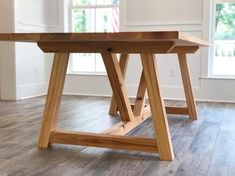 This table, just like all of our tables is made to last centuries. We reclaim old cypress beams found in south Louisiana barns and shotgun houses to create every cypress table. Materials: Planed Reclaimed Cypress Dimensions: and Dining Room Table Legs, Farmhouse Table Legs, Diy Table Legs, Wood Table Legs, Deck Table, Crate Table, Dining Table With Bench, Modern Dining Table, Table Bases