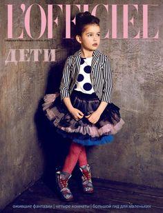 {Love the tutu-skirt and oversized polka-dot print!} <-- same here!!