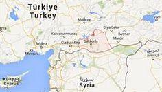Provincie Şanlıurfa (červeně) na jihovýchodě Turecka.