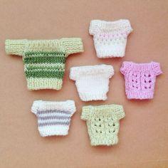 Original Tree Change Dolls™ Knitting Pattern 1 by TreeChangeDolls