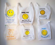 Brand Packaging, Packaging Design, Thank You Bags, Self Branding, Trash Art, Plastic Art, You Are Awesome, Smiley, Photo And Video