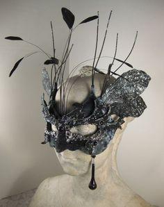 Black and silver masquerade