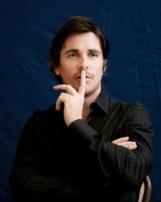 ...hmmm...is he thinking of me....christian bale