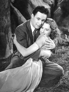 William Holden and Barbara Stanwyck, Golden Boy,1939