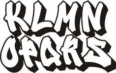 Classic Street Art Graffiti Font Type Alphabet - Download From Over 64 Million High Quality Stock Photos, Images, Vectors. Sign up for FREE today. Image: 35185186