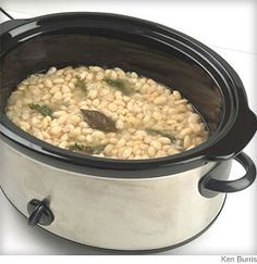 By cooking your own dried beans, you save money, reduce sodium and get better flavor along with, surprisingly, more vitamins and minerals. #CrockPot Recipes