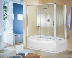 Доброго утра ☕🔆🍨 и прекрасного начала рабочей недели  Сегодня поговорим о разнообразии штор для ванн, которые Вы сможете найти у нас👇 #Стеклянные душевые #шторки сегодня пользуются огромной популярностью. Они прочные и надежные, имеют множество вариантов конструкций. Складные стеклянные шторки для ванной очень компактные и удобные. Они подойдут как для прямоугольных #ванн, так и для #душевыхкабин.
