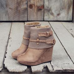 The Knit & Sock Booties, Sweet Fall boots from Spool No.72 | Spool No.72