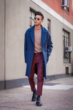 how to wear the oversized coat