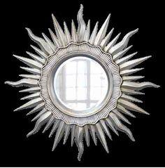 Купить Серебряное Зеркало Солнце