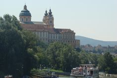 Austria - Melk Abby view from the Danube