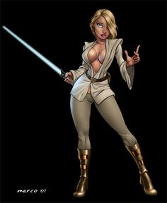 Image detail for -The Swedish Bed » Blog Archive » Star Wars : Sexy Jedi Knights