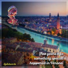 Alcuni anni fa qualcosa di magico è accaduto a Verona. @julietsecrets #julietsecrets #casadigiulietta #juliethouse #lovers