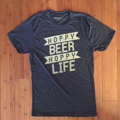 La camisa Original de la cerveza amor IPA por HoppyBeerHoppyLife