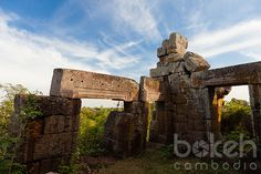 Ruins of the ancient Khmer temple at Phnom Chisor | Takeo Province, Cambodia