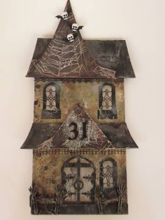 Creepy Chunky House - by Pottermouth on Craftster