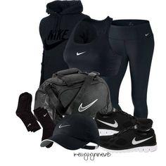 All black Nike