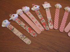 segnalibri -decorati con gessetti