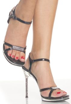 c2deaff5ac0f They feature double strap detail in toe area united in the middle by a  rhinestone-decorated insertion and side straps which support… The Shoe Shop