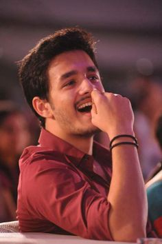 Only Telugu Film News: Akhil about his entry in manam and debut film