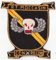 Special Forces Vietnam MACV-SOG Recon Team Patches