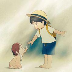 👶 All Anime, Anime Art, Mamoru Hosoda, Wolf Children, Film D, Naruto, Doraemon, Manga, Anime Shows