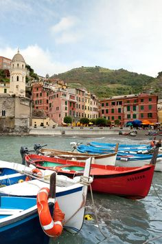 The Italian government has declared the Cinque Terre a national park. For a small entrance fee (about $8 for a one-day pass), visitors can hike the trail connecting all five towns, a trek that takes about five hours.
