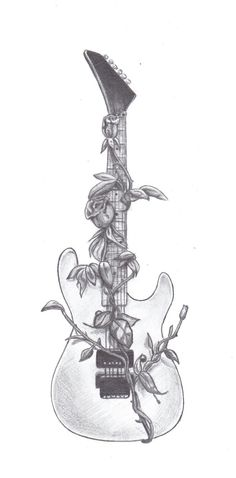 tattoo guitar rock - Buscar con Google