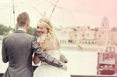 Samantha Martens-Langenberg en haar man trouwden op 22 augustus 2014 en lieten dit vastleggen in de Efteling