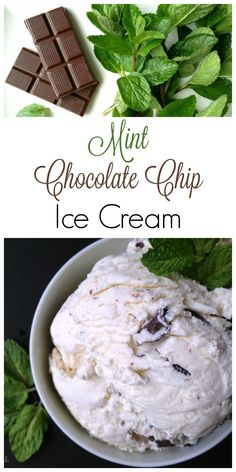 This homemade REAL food Mint Chocolate Chip Ice Cream is full of shaved and chunked quality organic chocolate. It's so refreshing and absolutely delicious! Chocolate Chip Ice Cream, Organic Chocolate, Mint Chocolate Chips, Frozen Desserts, Frozen Treats, Summer Desserts, Gluten Free Desserts, Delicious Desserts, Healthy Desserts