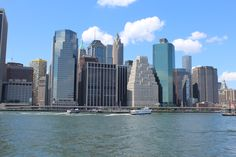 New York. Manhattan. East River