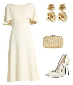 A fashion look from March 2017 featuring boat neck white dress, high heel court shoes and woven leather handbag. Browse and shop related looks. Daily Fashion, Girl Fashion, Fashion Looks, Fashion Outfits, Womens Fashion, Off White Fashion, Casual Outfits, Cute Outfits, Royal Clothing