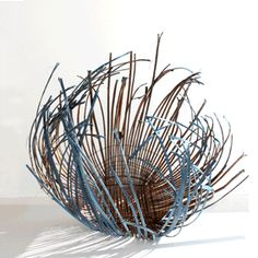 From Pileriet, a training center for basketry, weaving and design started the year 2000 by Ane Lyngsgaard, (Denmark)