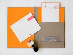 Socialology's Academia-Inspired Business Stationery by Akula Kreative, Photo Credit: Caroline Tran