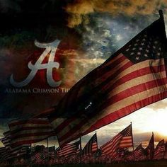 You can take a soldier outta BAMA! Crimson Tide Football, Alabama Crimson Tide, Alabama Football Quotes, Alabama Decor, University Of Alabama, Roll Tide, Fourth Of July, Red And White, Usa