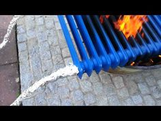 """Pool"" Heizung mit Feuer - YouTube"