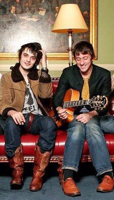 Pete Doherty & Graham Coxon which means PEOPLE WITH PEOPLE