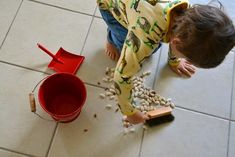 Daily chores for a four year old - How We Montessori