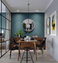 Небольшая квартира площадью всего 45 квадратных метров, расположенная в Киеве, Украина, была спроектирована дизайнерами студии MARTIN architectsНенавязчивая красота