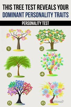Your unconscious and subconscious mind are running your life! Read on to find the perfect match. This Tree Test Reveals Your Dominant Personality Traits Personality Traits Test, Birth Month Personality, Borderline Personality Disorder, Fun Test, Fun Quizzes, Psychic Games, Psychology Quiz, Chinese Face Reading, Anniversary Crafts