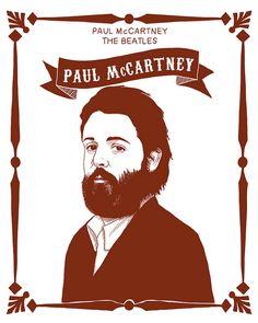 Beard - Paul McCartney by Mr Malinois